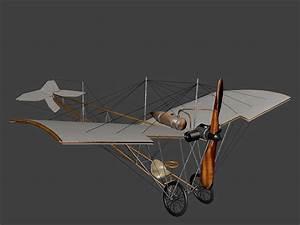 3D model Santos-Dumont Demoiselle N 21 | CGTrader