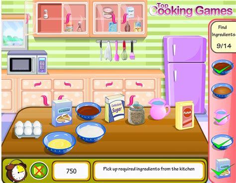 jeu cuisine un g 226 teau au chocolat gratuit en ligne