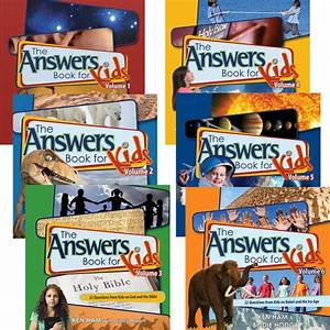 The Answers Book for Kids Complete Set