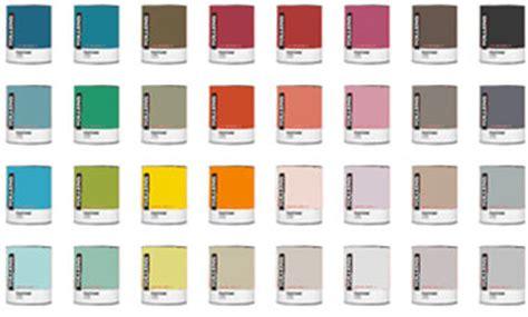 nuancier tollens 40 couleurs peinture chez castorama