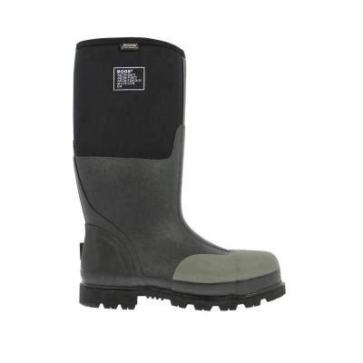 Rubber Boots Home Depot by Bogs Forge Steel Toe Men 16 In Size 16 Black Waterproof