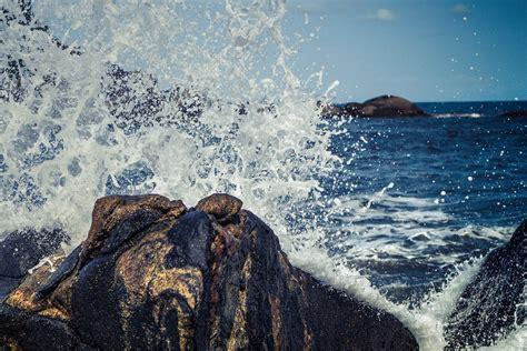 Free photo: Waves, Splash, Crashing, Rock   Free Image on Pixabay   768777