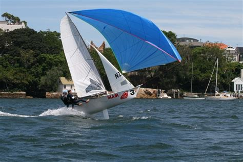 Skiff Club Double Bay by 12ft Skiff Interdominion Back On Sydney Harbour In January