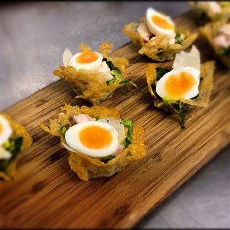 caesar salad anyone dining canapes from the poet plating ideas caesar