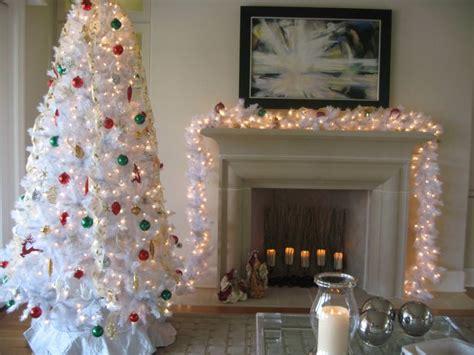 Winter White Artificial Christmas Tree