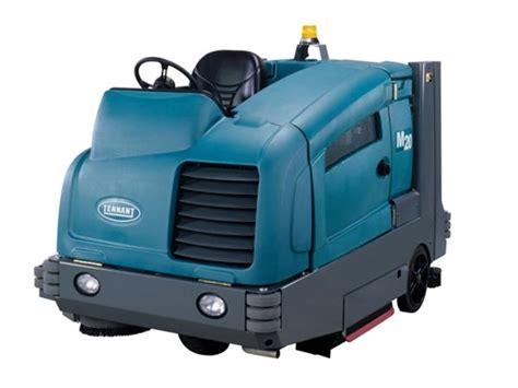 used tennant m20 floor sweeper scrubber gt tennant