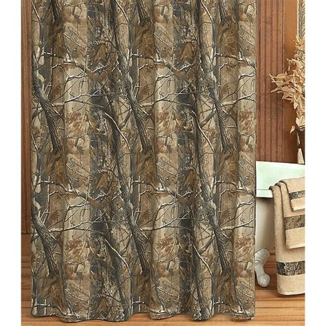 camo bathroom decor realtree all purpose camo shower curtain camo trading