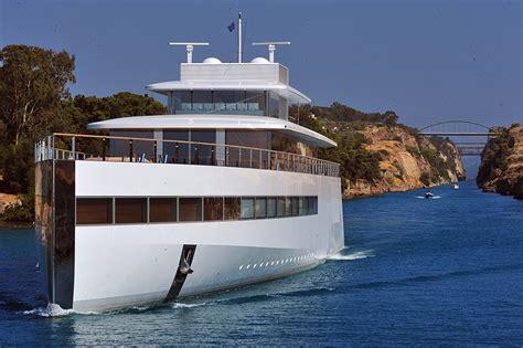 Steve Jobs Boat by Venus Super Yacht Feadship Owner The Jobs Familysuper