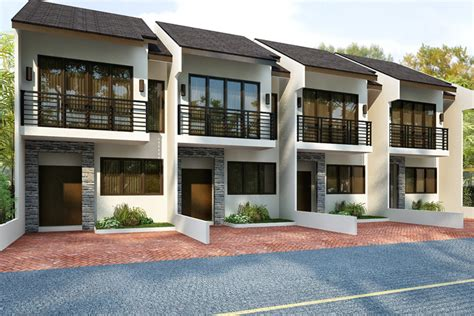simple storey townhouse designs ideas philippine townhouse interior design inc house plans