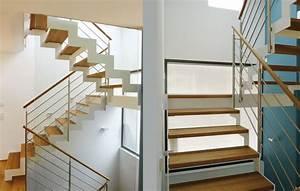 Stahl Holz Treppe : stadler treppen plz 88348 bad saulgau treppe aus holz und stahl mit gezahnten wangen ~ Markanthonyermac.com Haus und Dekorationen