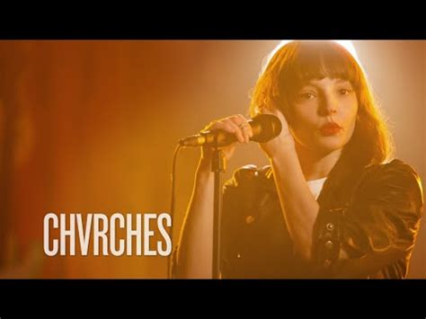 chvrches quot we sink quot guitar center sessions on directv