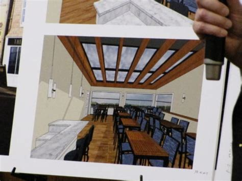 bank rooftop dining in seafood restaurant proposed