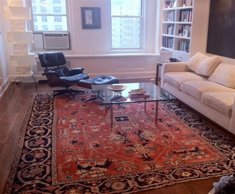 my houzz rugs define living spaces in a 750 square foot pap rugs in interior spaces