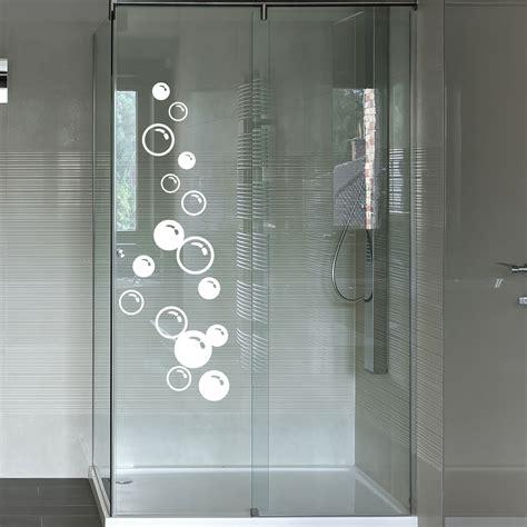 stickers muraux pour salle de bain sticker mural bulles