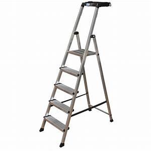 Leiter 3 Stufen : krause secury stufen steh leiter 5 stufen mit multigrip system kaufen bei obi ~ Markanthonyermac.com Haus und Dekorationen