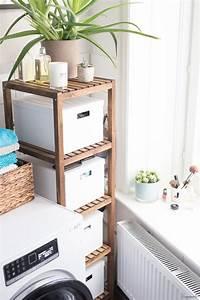 Badezimmer Ideen Ikea : schnelle badezimmer umgestaltung und eine neue waschmaschine ~ Markanthonyermac.com Haus und Dekorationen