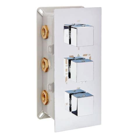 mitigeur de thermostatique 224 encastrer avec inverseur 3 voies 6 fonctions up11 02 le