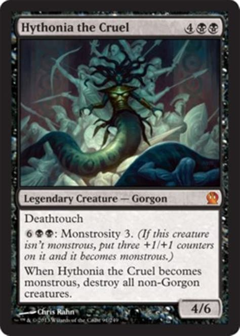 mtg black deck gorgon deathtouch magic the gathering cards lot shops it is and plays