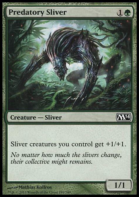 predatory sliver mtg card