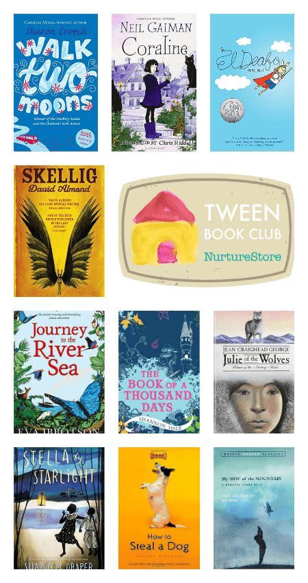 Nurturestore's Tween Book Club Book List Nurturestore