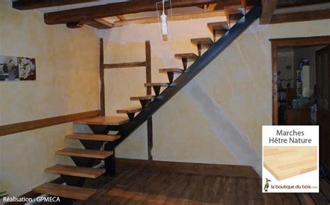 escaliers bois m 233 tal exemples de r 233 alisations sur mesure le du bois