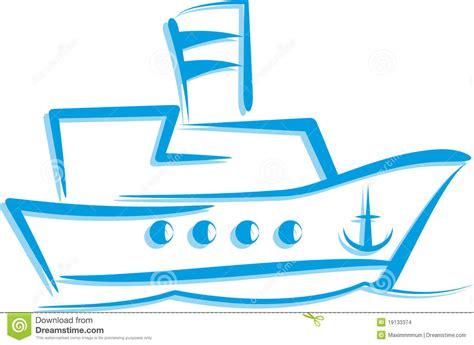Een Schip by Illustratie Met Een Schip Stock Afbeeldingen Afbeelding