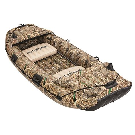 Camo Blow Up Boat by Fishing Boat Kamisco