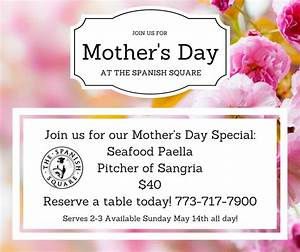 Mother's Day Special | The Spanish Square