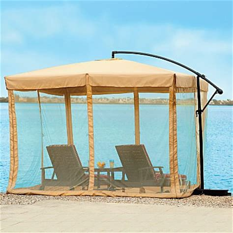 as as it gets umbrella mosquito net 10 square improvements cantilever patio umbrella