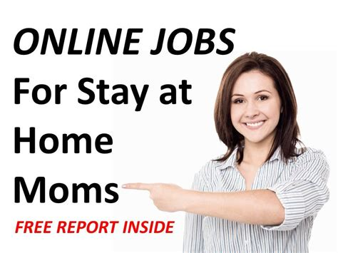 Online Jobs For Stay At Home Moms In Baltimore Md