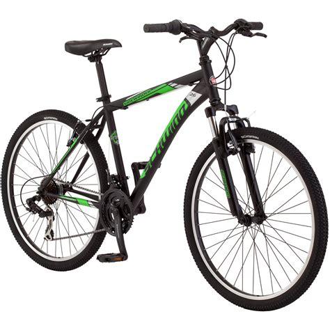 26 in schwinn sidewinder mens mountain bike matte black green ebay