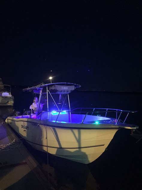 Led Boat Night Lights by Post Your Boat At Night Led Lights The Hull Truth