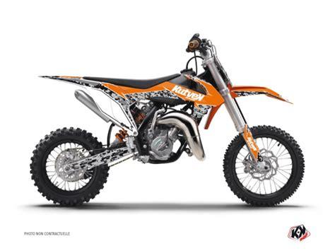 kit d 233 co moto cross predator ktm 50 sx orange kutvek kit graphik