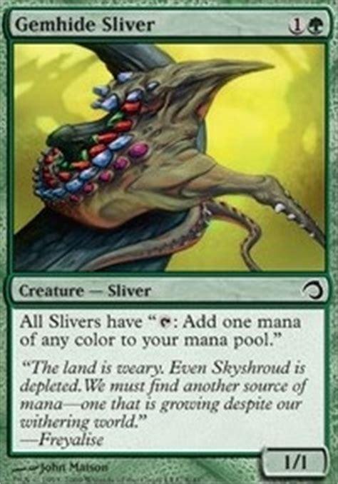 Mtg Sliver Deck Tapped Out by Venom Sliver Mtg Card