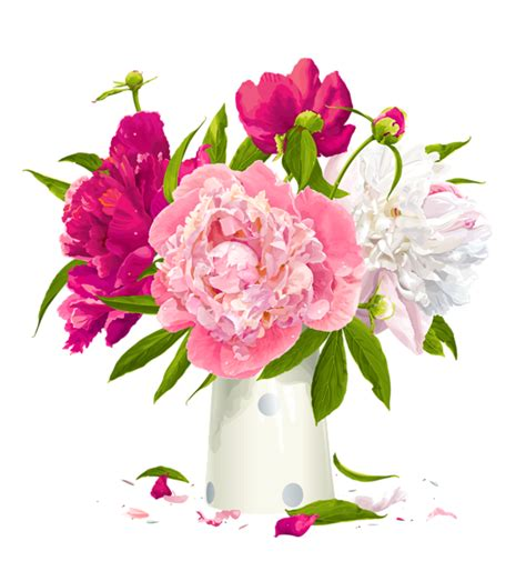 vase with peonies clipart gallery yopriceville high