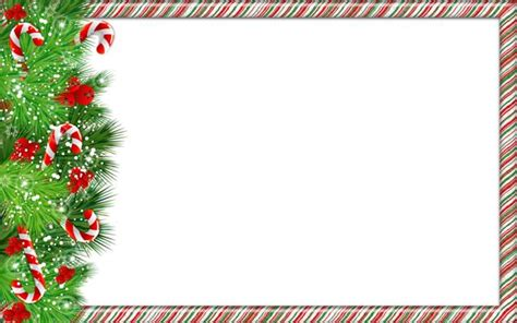Candy Cane Decorations by Merry Christmas Border Clipart 41