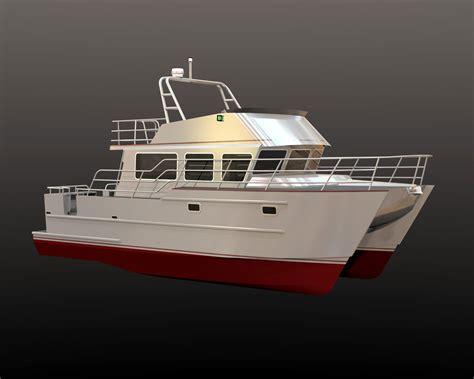 Catamaran Trawler Plans by Wooden Boat Restoration Stiffkey Vicar Small Power