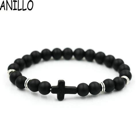 מוצר  Anillo Brand Wholesale Unisex Natural Stone Cross