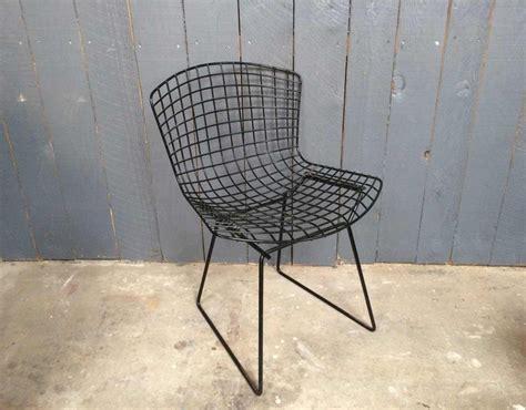 chaise harry bertoia pour knoll 5 francs