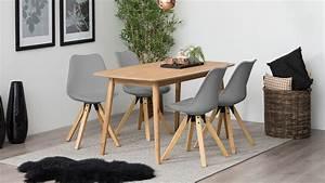 Stuhl Grau Eiche : stuhl dima 2er set bezug grau gestell eiche massivholz gebeizt ge lt ~ Markanthonyermac.com Haus und Dekorationen