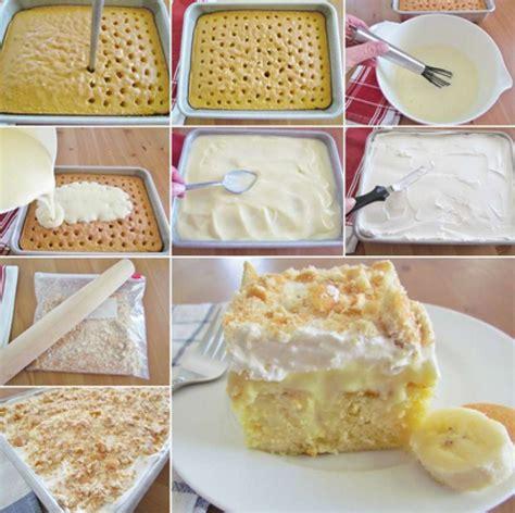 banana pudding poke cake banana pudding poke cake recipe 30 just a pinch recipes