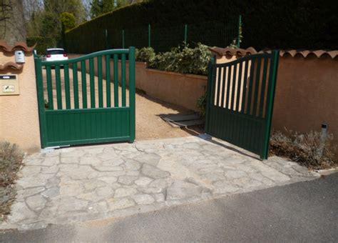 portail pivotant aluminium pour particulier valparaiso cetram