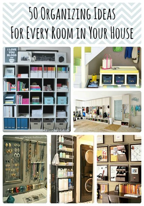 50 Organizing Ideas For Every Room In Your House — Jamonkey