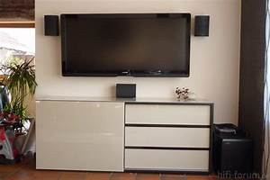 Fernseher Aufhängen Höhe : geeignete wohnwand wohnm bel f r gro e lcds mit ~ Markanthonyermac.com Haus und Dekorationen