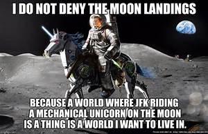 JFK On Robot Unicorn - Imgflip