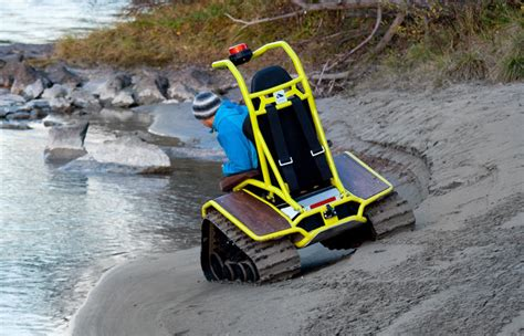Ziesel Off-road Wheelchair Conquers All Weather And Terrain