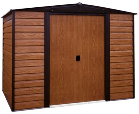 arrow 8x6 dallas metal storage shed kit ed86