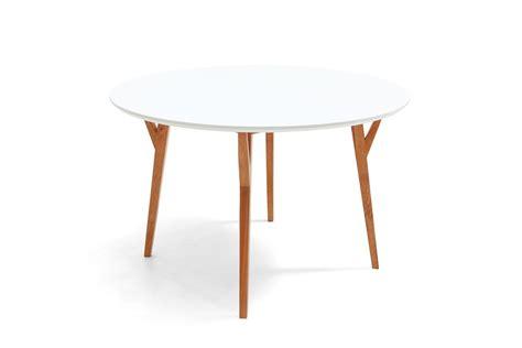 table de salle 224 manger ronde design scandinave moesa dewarens