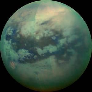 Cassini peers through the haze of Saturn's moon Titan ...