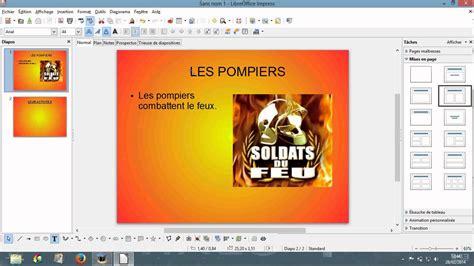 tuto comment faire un diaporama avec libre office fr